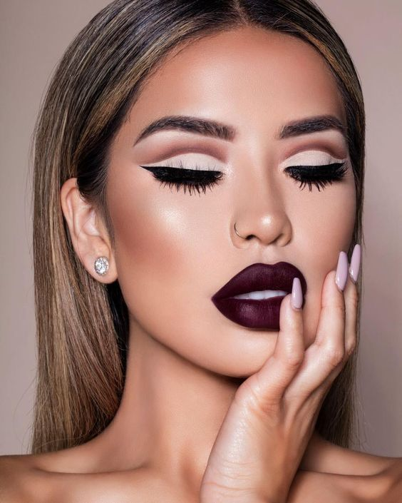 30+ Chic Makeup Ideas You Need To Try This Fall | Fall makeup .