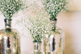DIY Mercury Glass Centerpiece Vases for your Rustic Chic Wedding .