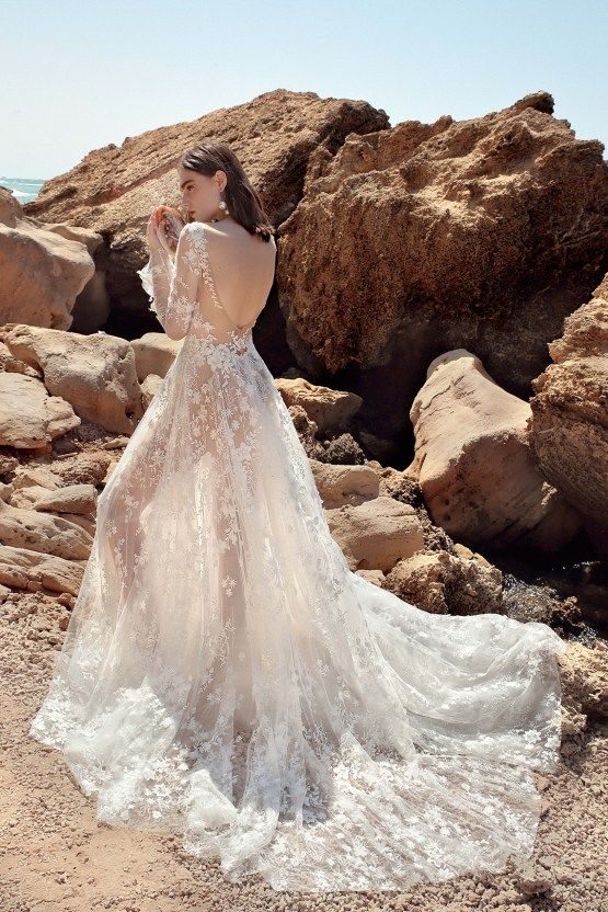 These mermaid-inspired wedding dresses by Galia Lahav are too gorgeo