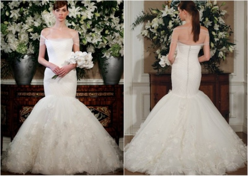 Picture Of Mermaid Style Wedding Gowns Inspirati