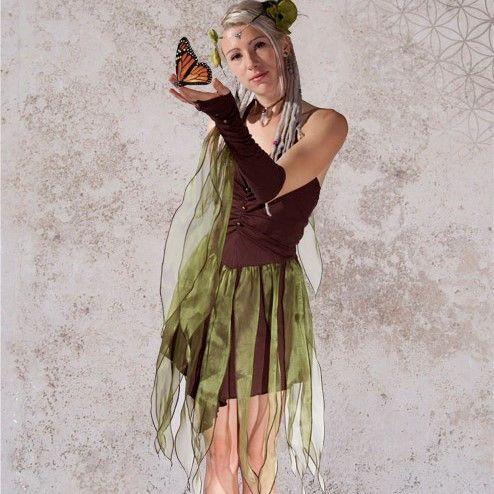 Titania Dress - Beautiful Flowing Fairy Dress from Zizzyfay .