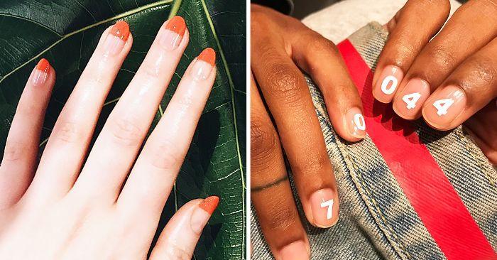14 Minimalist Nail Art Designs That (Actually) Aren't Bori