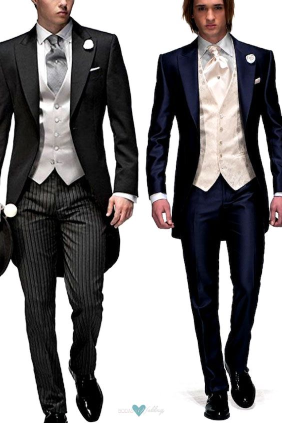 Types of Wedding Suits for Grooms | Groomswear According to the .