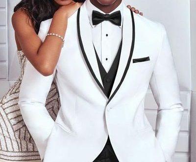10 Modern Groom's Style Ideas To Meet The Trends 09-White Tuxedo .