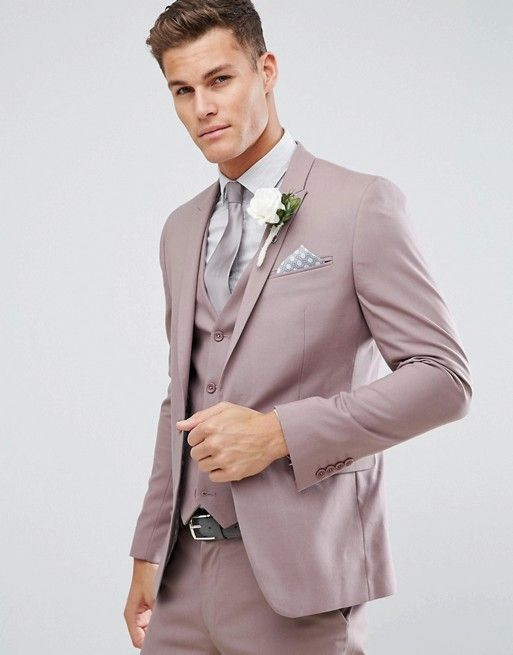 Goodbye Black Suits! 30 Stylish Colored Suits for Modern Grooms .