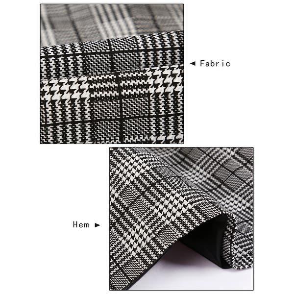 Shop Men Plaid Design Dress Vest Slim Fit V-Neck Business Suit .