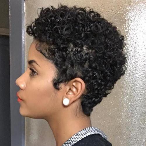 75 Most Inspiring Natural Hairstyles for Short Hair | Natural hair .