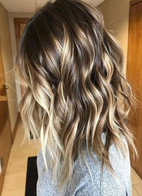 Winter/Spring Hairstyles Ideas 2018 Balayage Highlights | Hair .