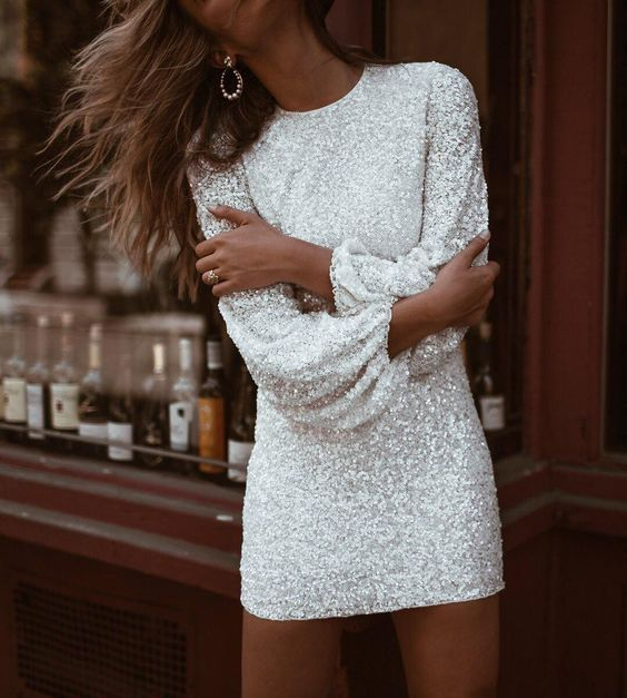 14 New Years Eve Outfit Ideas To Copy This Year - Society19 | Long .