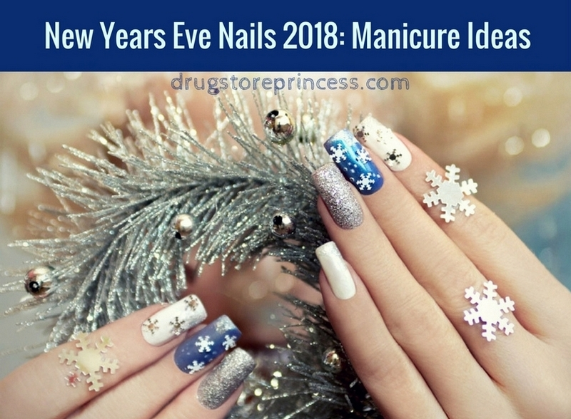 New Years Eve Nails 2018: Manicure Ide