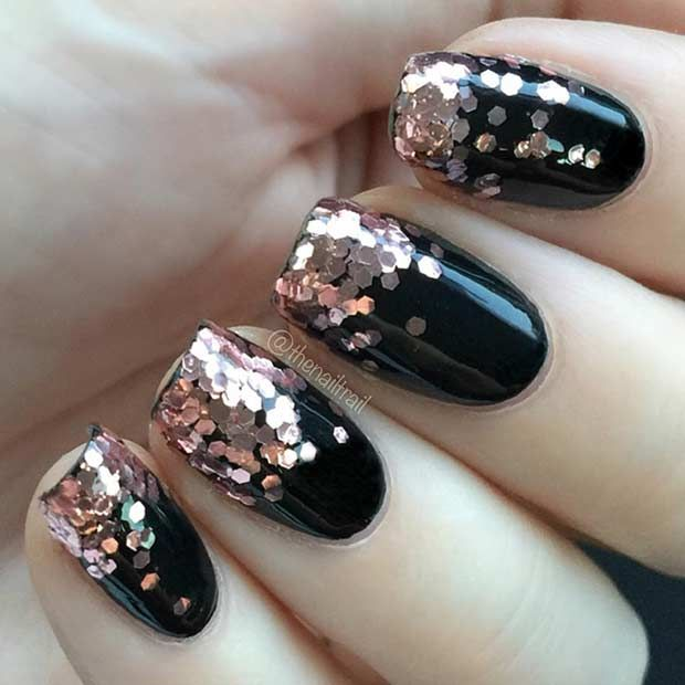 31 Snazzy New Year's Eve Nail Designs | Stylish nails art, New .
