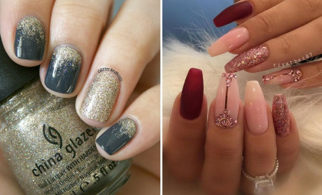 31 Snazzy New Year's Eve Nail Designs | StayGl