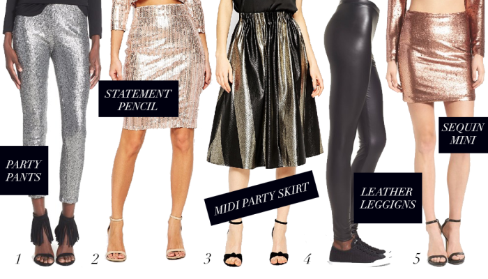 New Years Eve Outfit: Sequins and Other Party Ide