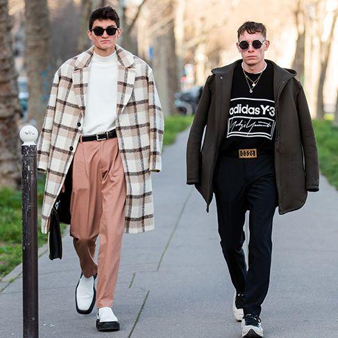 The Best Paris Fashion Week Street Style From Men's A/W '