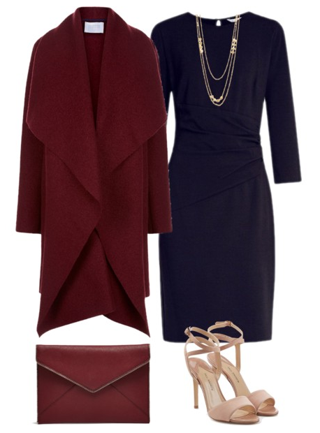 The Perfect Fall Color Combo: Navy + Burgundy | Mom Fabulous .
