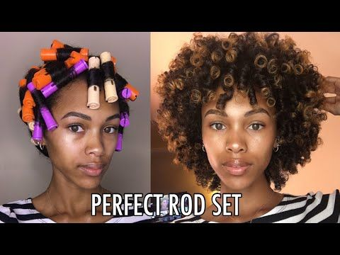 THE PERFECT PERM ROD SET FOR ALL HAIR TYPES & LENGTHS .