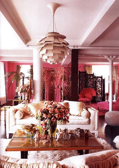 All Pink Everything! | Pink living room, Decor inspiration, Pink ro