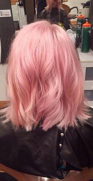 Pink Lob Inspiration in 2020 | Pink short hair, Best hair dye .