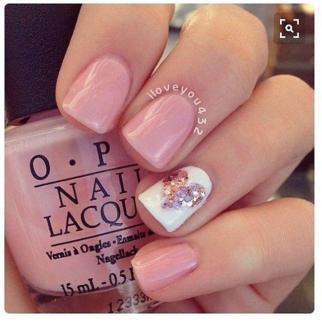 100 Crush-Worthy Valentine's Day Nail Art Ideas | Pink nails .