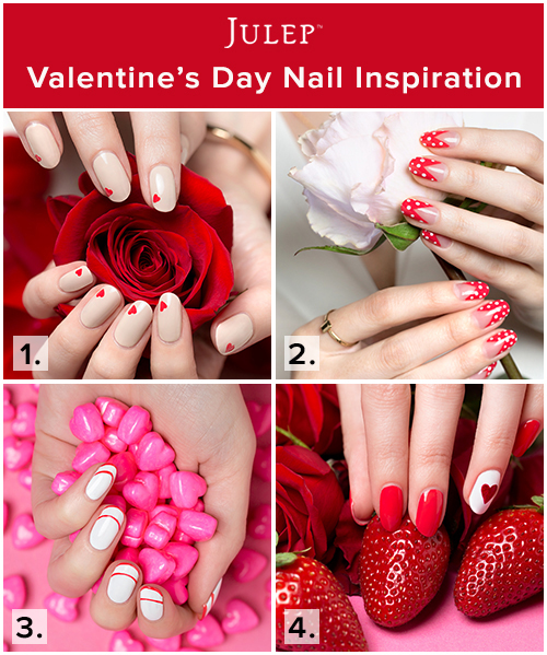 Daily Dose of Fashion and Beauty: Valentine's Day DIY Nail Inspirati