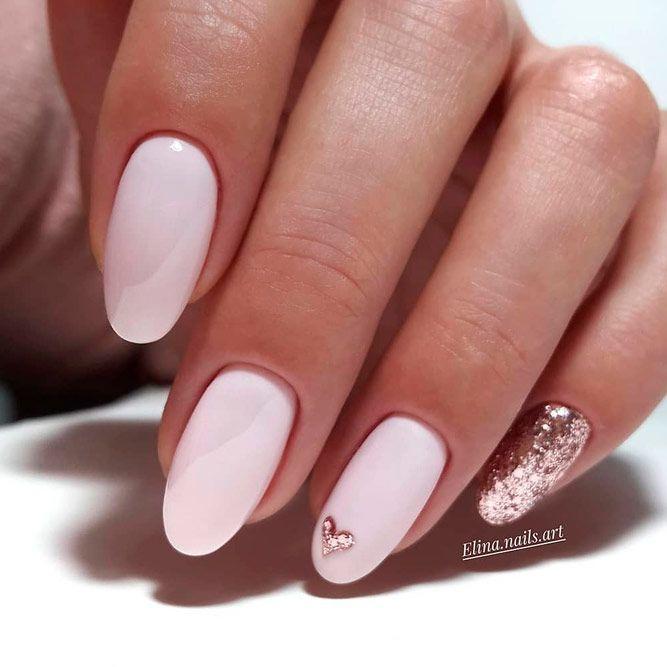 pink nails | Nail designs valentines, Valentine's day nail designs .
