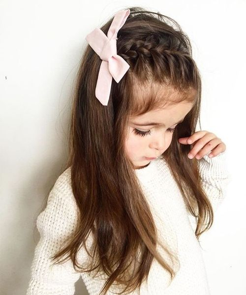 Lovely and Pretty Long Hairstyles for Little Girls | Easy little .