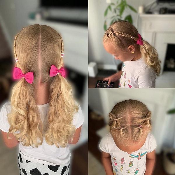 10 Simple School Girl Hairstyles for Medium Hair | Styles At Li