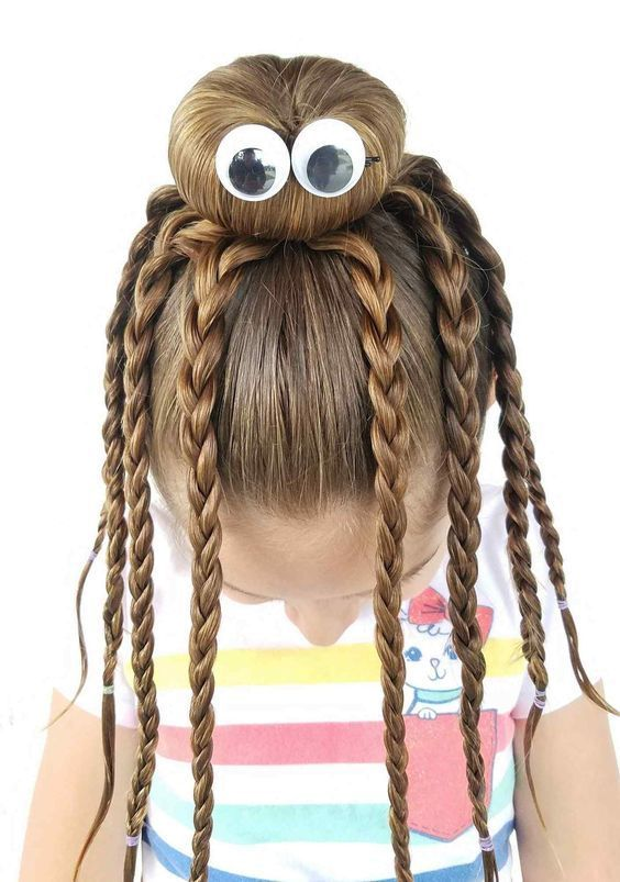 Quick and Easy Ideas for Back to School Hairstyle #Easy #Hairstyle .