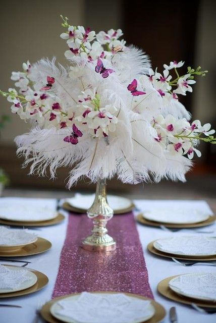 wedding decoration ideas | Paper wedding decorations, Silk flowers .