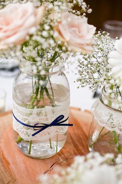 Easy DIY Quinceanera Centerpieces | Wedding centerpieces, Lace .