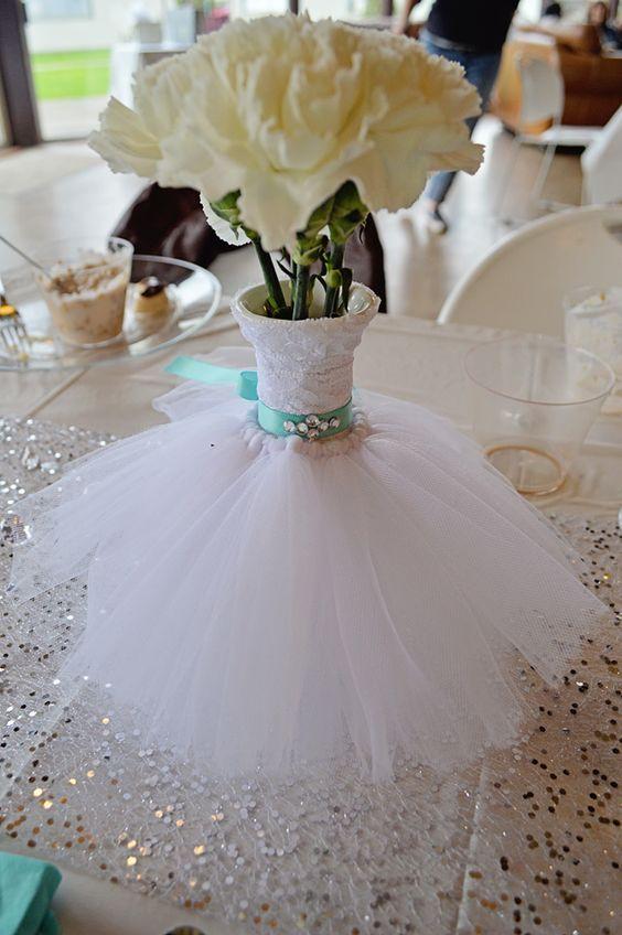 Quince Theme Decorations | Bridal shower centerpieces, Wedding .