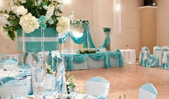 Awesome Quinceanera Ideas Tiffany Blue Themed Wedding | Tiffany .