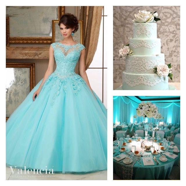 Quince Theme Decorations | Quinceanera dresses blue, Dresses .