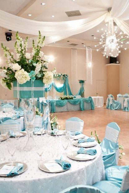 50+ Quinceanera Ideas Tiffany Blue | Tiffany blue wedding theme .