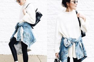 Pin for Later: 32 Lazy but Stylish Outfit Ideas For the Days You .