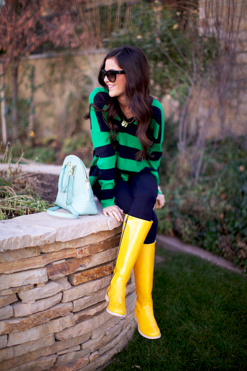 Crazy for Yellow… | Style, Rainy day fashion, Yellow rain boo