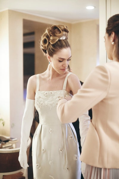 The Bride's Hair Was Audrey Hepburn-Inspired at This Intimate New .