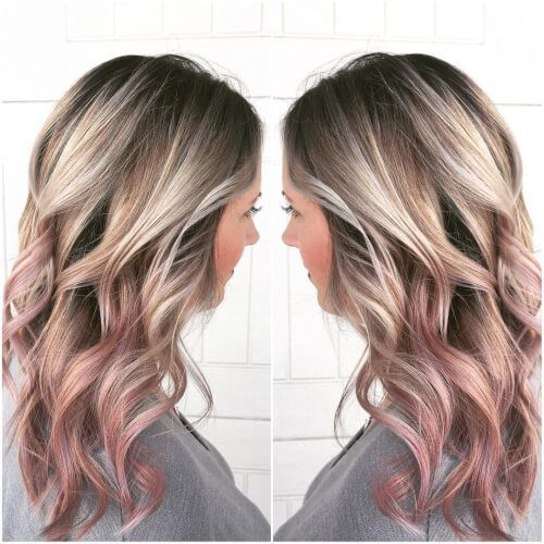 19 Best Rose Gold Hair Color Ideas for 2020 | Hair color rose gold .