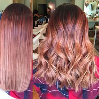 Stunning Rose Gold Hair Ideas!!! | Hair beauty, Hair styles, Gold ha