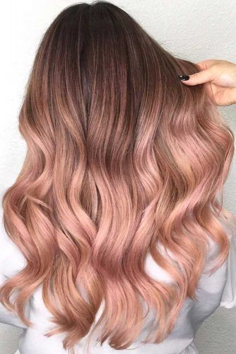 Why And How To Get A Rose Gold Hair Color | LoveHairStyles.com .