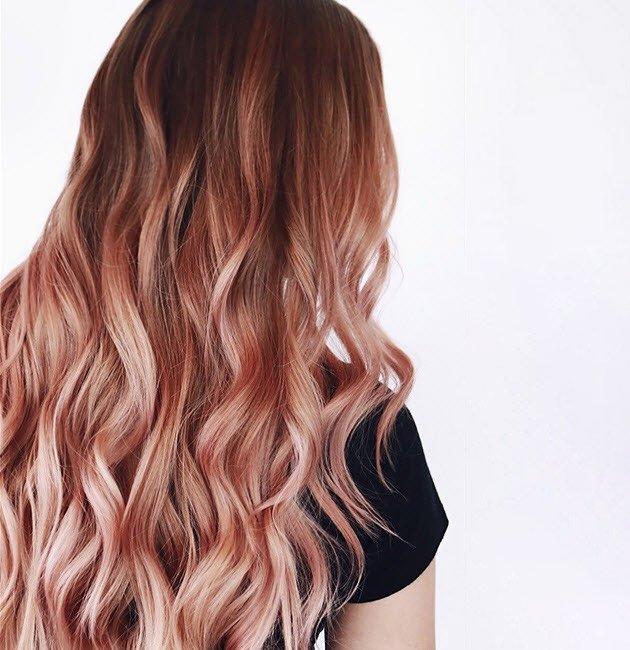 Rose Gold Blonde Hair Color Ideas | Matr