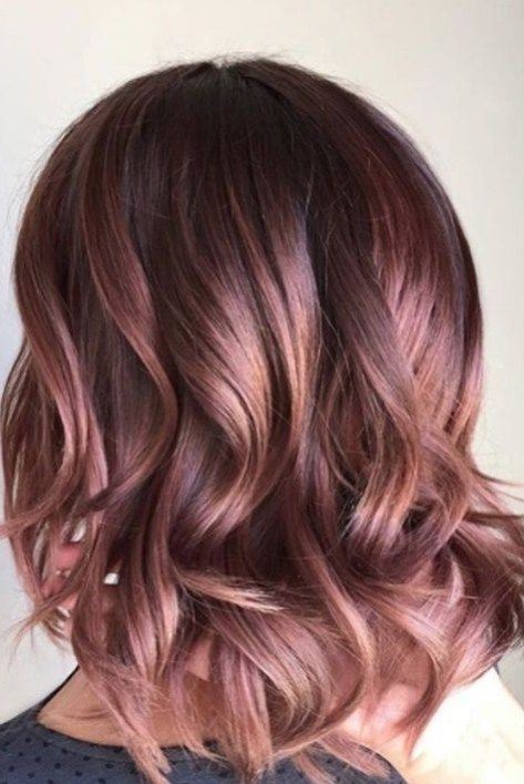45 Rose Gold Hair Color Ideas for Short Haircuts This Year - Wass .