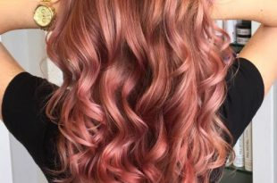 20 Brilliant Rose Gold Hair Color Ideas for 20