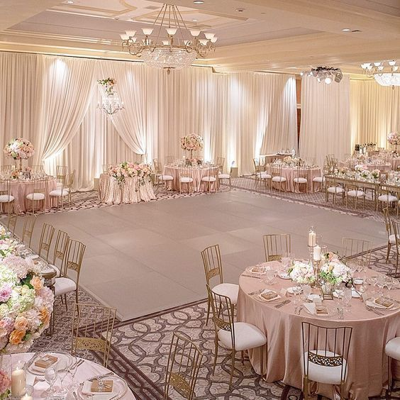 28 State-making Rose Gold Wedding Decorations Ideas .