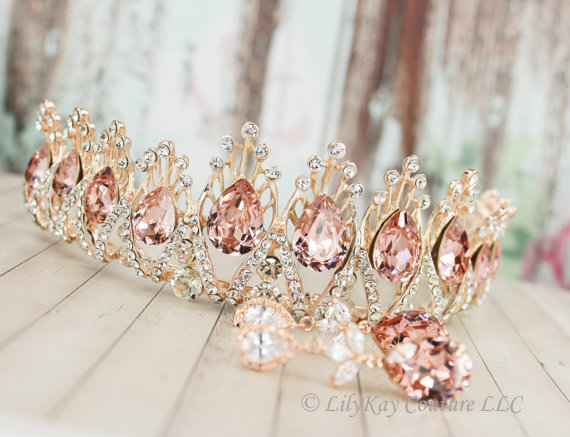 Rose Gold Quinceanera Theme - My Perfect Quin