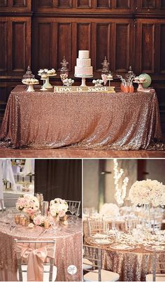 52 Best Rose Gold Wedding images | Rose gold wedding, Wedding .