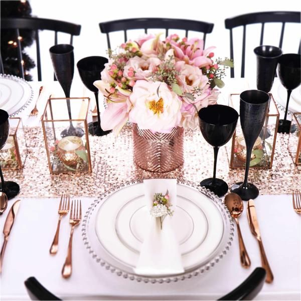Blush Simply tabletop accessories. Refined opulence, a timeless .