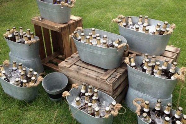 Top 20 Rustic Country Galvanized Bucket Wedding Ideas – Hi Miss Pu