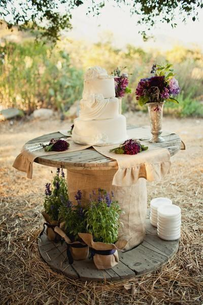 Food & Favor - 56 Perfect Rustic Country Wedding Ideas #2471695 .