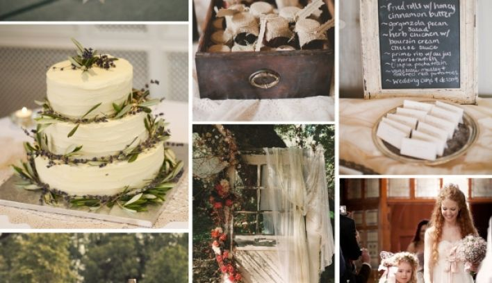 Rustic Wedding Theme for Neo-Country Wedding Inspiration | Confetti.